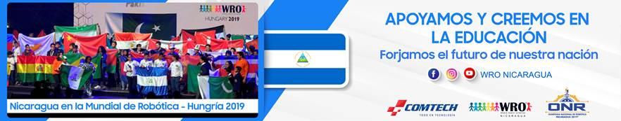 Nicaragua en el mundial de Robotica - Hungria 2019